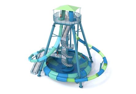 360Rush XT Water Slides
