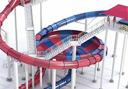 Double BowlsEye XT Water Slides
